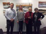 photo - Western Canada Jewish Book Award 2018 winners, left to right: Roger Frie, Deborah Willis, Kathryn Shoemaker and Irene Watts. Missing: Tilar Mazzeo
