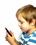 photo - Child with cellphone