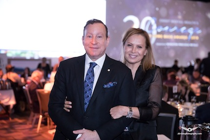 photo - The event was chaired by Lorne Segal, pictured here with his wife, Mélita