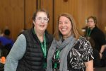 photo - Alisa Polsky, left, and Leamore Cohen attended the Jewish Federations of Canada-United Israel Appeal's Pushing the Boundaries: Disability, Inclusion and Jewish Community conference in Toronto April 15-17