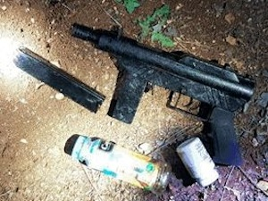 photo - Terror weapons found by Israel Security Agency (ISA) personnel