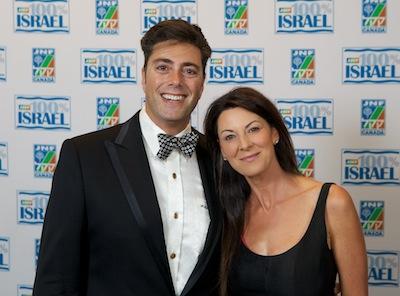 photo - Honourary chairs Jodi and Alex Cristall