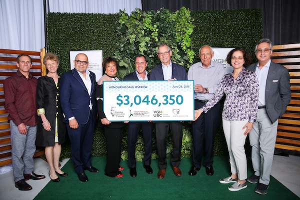 photo - The June 28 event honouring Dr. Saul Isserow raised more than $3 million for two initiatives