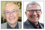 photos - Robbie Waisman, left, and Chief Robert Joseph, will speak at Temple Sholom's Selichot program Sept. 1