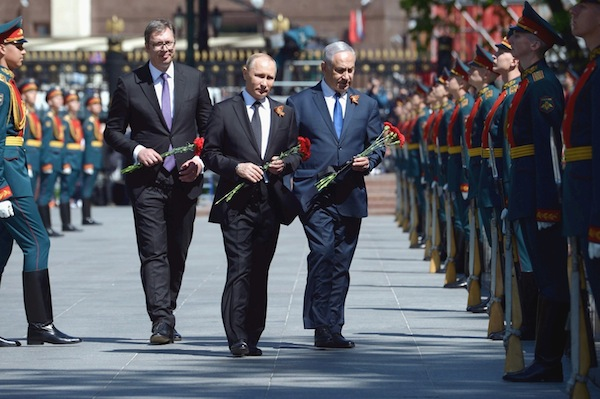 photo - Prime Minister Binyamin Netanyahu and Russian President Vladimir Putin in Moscow