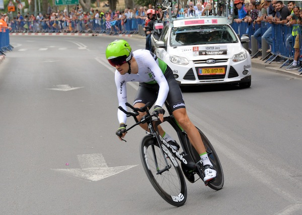 photo - The Giro d'Italia time trials in Jerusalem