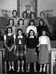 photo - Congregation Beth Israel, circa 1955