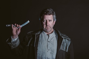 photo - Warren Kimmel looks absolutely terrifying in the production's promotional material