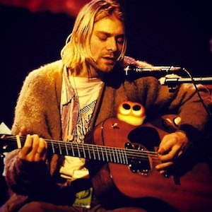 photo - Kurt Cobain