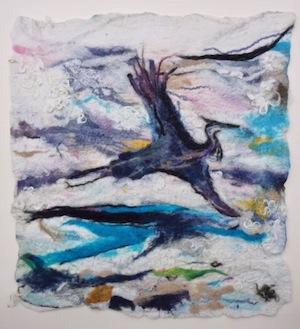 "photo - ""Heron"" by Claudie Azoulai"