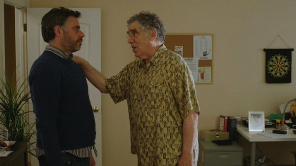 photo - Nate Kroll, left, and Elliot Gould provide many laughs in Humor Me