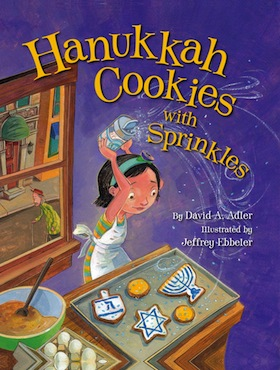 image - Hanukkah Cookies with Sprinkles book cover