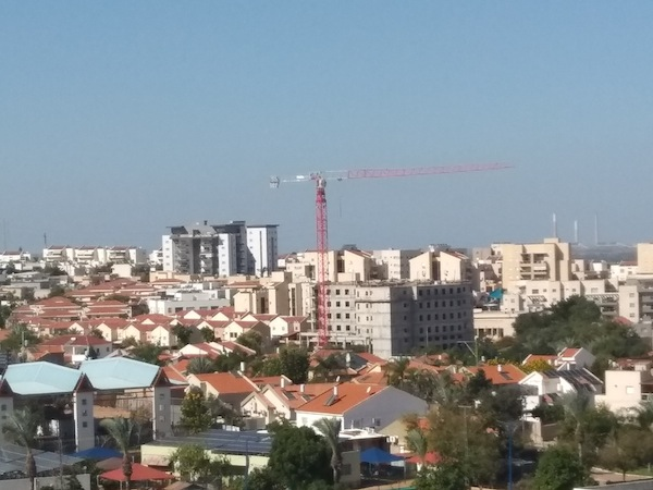photo - Sderot's growing skyline