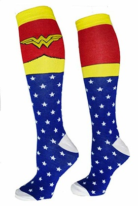 image - Wonder Woman socks