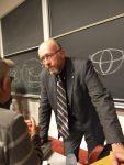 photo - University of Ottawa's Prof. Jan Grabowski delivered the Rudolf Vrba Memorial Lecture at the University of British Columbia Nov. 15
