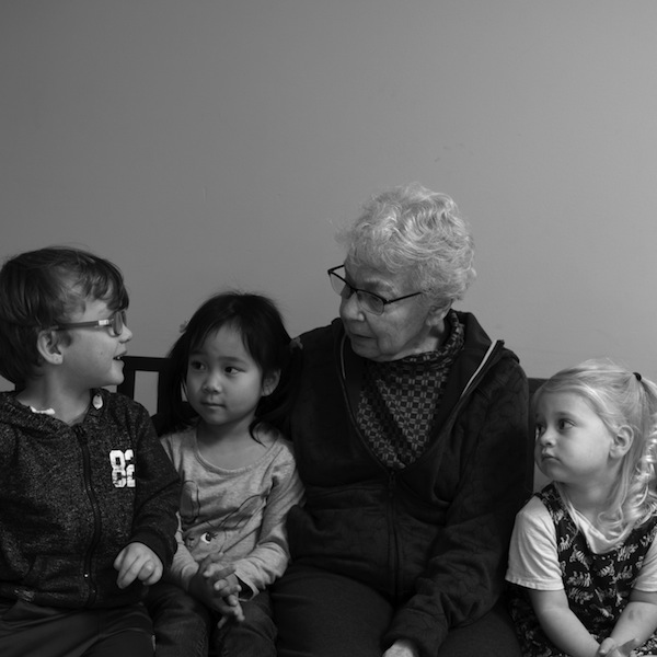photo - Gloria, Joyce, Shiloh and Asher