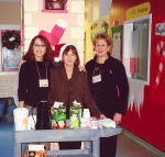 photo - Left to right: Caryl Kochen, Darcy Billinkoff and Caron Bernstein were three of the many Operation Warmth volunteers over the years