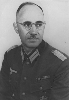 photo - Nazi Maj. Karl Plagge oversaw a military vehicle repair complex that he used to try and save 1,257 Jews in Vilnius