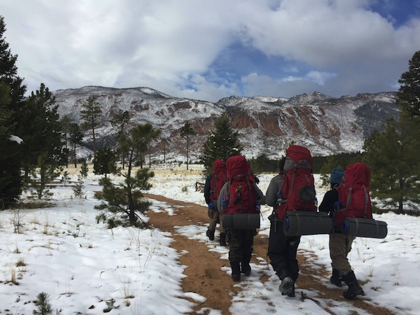 Wilderness helps youth heal