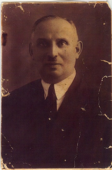 photo - The author's maternal grandfather, Abraham Basson (at age 60)