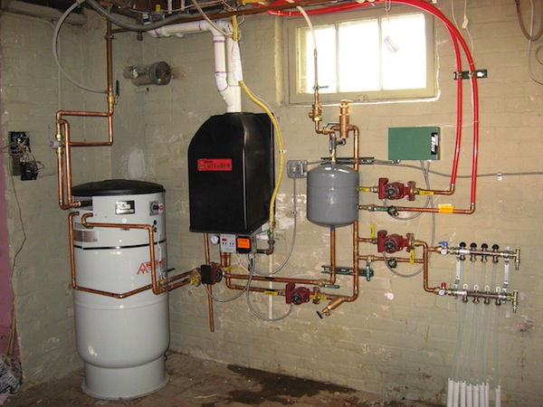 photo - A boiler system