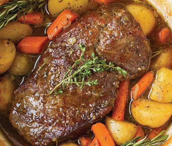 photo - It was an uber-yummy pot roast that spawned the Accidental Balabusta