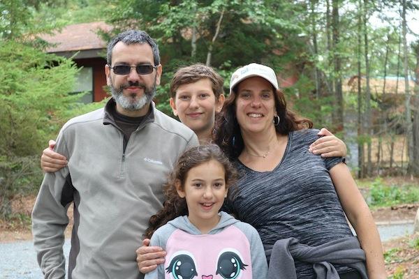 photo - Florencia Katz and family