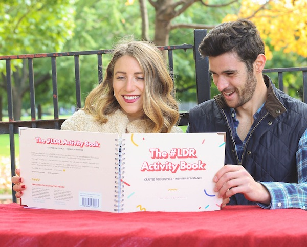 photo - Sam Laliberte and Jared Schachter share what they've learned about long-distance relationships in The #LDR Activity Book