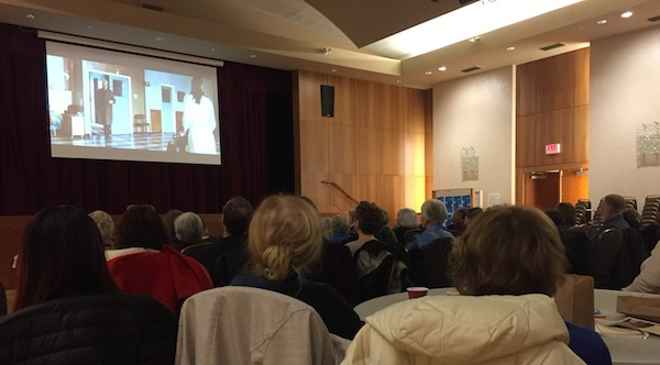 photo - Recent Empowerment series session featured the screening of the film A Song for Marion (Unfinished Song)