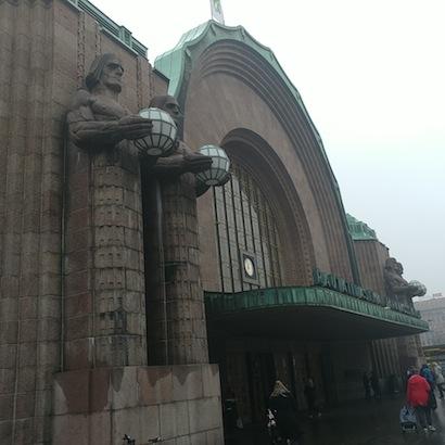 photo - Helsinki's train station