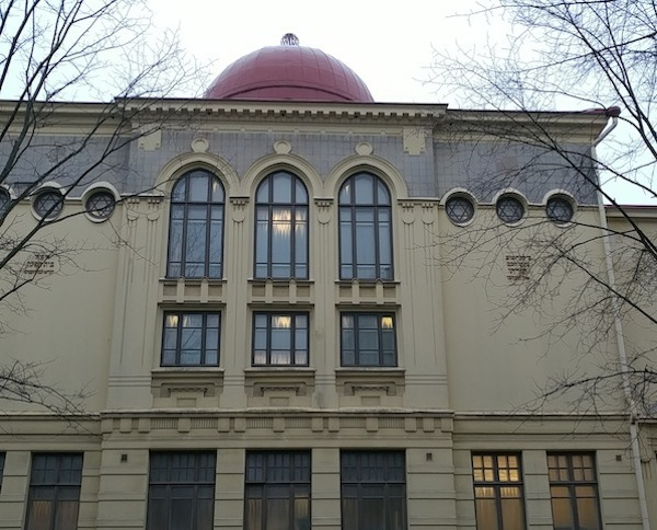 photo - Helsinki Synagogue, in the heart of the city, was built in 1906