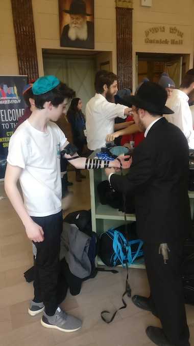 photo - The 11th annual CTeen International Shabbaton took place in New York last month