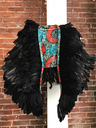 photo - Raven cloak made by Jeneen Frei Njootli