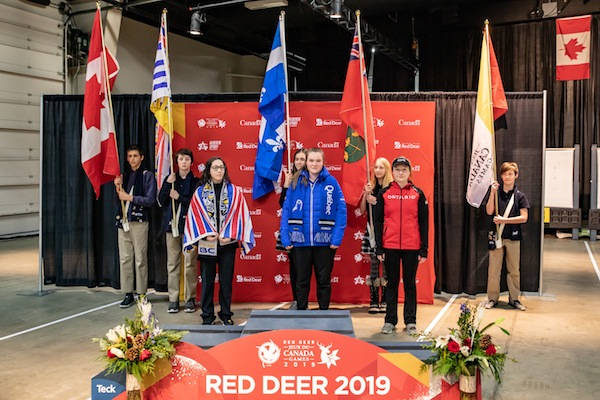 photo - Adi Shapira brought home a silver medal for British Columbia in the 2019 Canada Winter Games