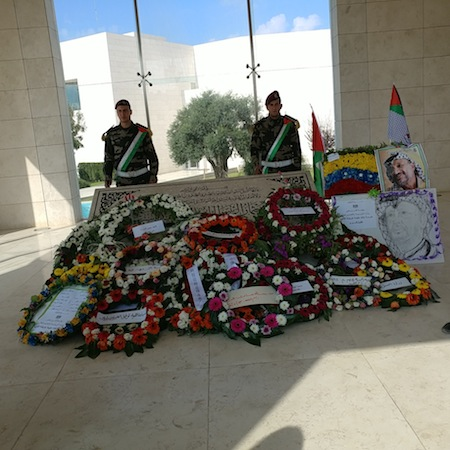 photo - Yasser Arafat mausoleum in Ramallah