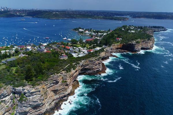 "photo - ""Sydney Beach Cliff"" (Australia)"