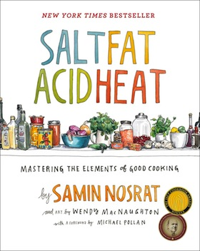 book cover - Salt Fat Acid Heat