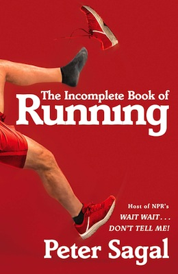 book cover - The Incomplete Book of Running
