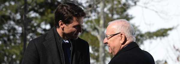 photo - President Reuven Rivlin recently held an official visit to Canada, which included a working meeting with Prime Minister Justin Trudeau