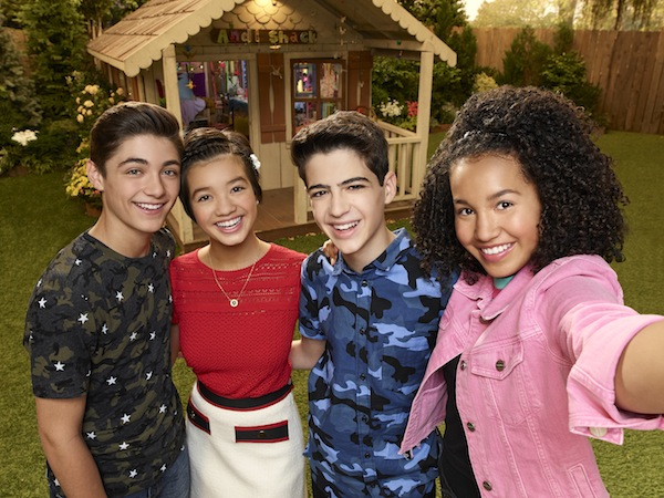 photo - Disney Channel's Andi Mack stars Asher Angel as Jonah Beck, Peyton Elizabeth Lee as Andi Mack, Joshua Rush as Cyrus Goodman, and Sofia Wylie as Buffy Driscoll