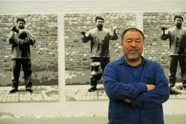 photo - Ai Weiwei is among the artists featured in Propaganda: The Art of Selling Lies, a documentary by Larry Weinstein, which will screen twice during DOXA