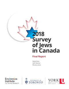 image - 2018 Survey of Jews in Canada cover