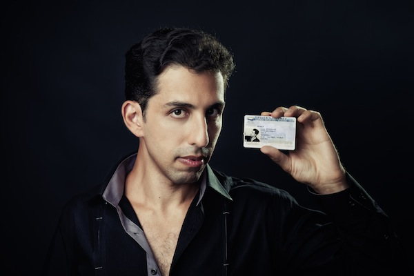 photo - Illusionist Vitaly Beckman can seemingly change a driver's licence photo. To witness the feat in person, check out his June 5 show at the River Rock Casino
