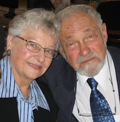photo - Phyllis and Wilfred Solomon are being honoured by Congregation Beth Israel on June 17