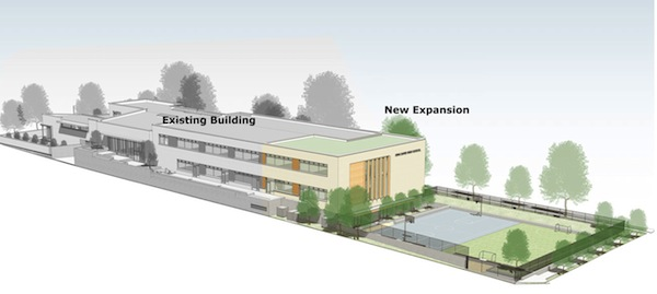 image - Architects Acton Ostry, who designed the original building of King David High School, are back for the expansion