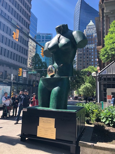 "photo - ""Space Venus"" by Salvador Dali has been placed in Lot 19, on West Hastings at Hornby"