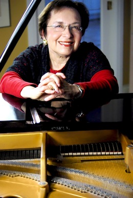 photo - With Mamma Mia! music director and pianist Wendy Bross Stuart has added ABBA's music to her repertoire