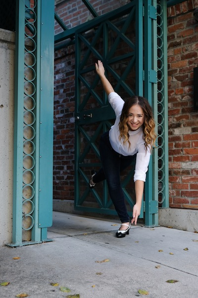 photo - Alexandra Clancy is one of the performers and choreographers whose work will be featured in this year's Dancing on the Edge, which runs July 4-13