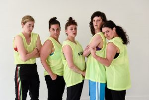 photo - The cast of Tara Cheyenne Performance's The Body Project