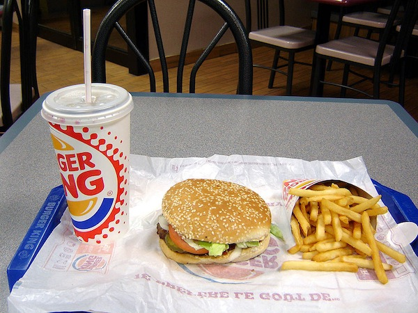 photo - Burger King Whopper combo